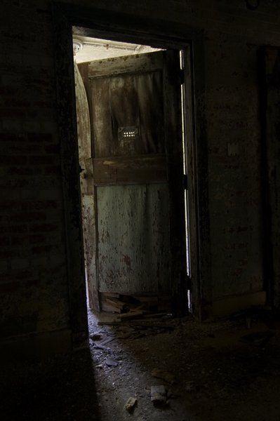 Creepy Door Fuller State School And Hospital 169 Opacity Us