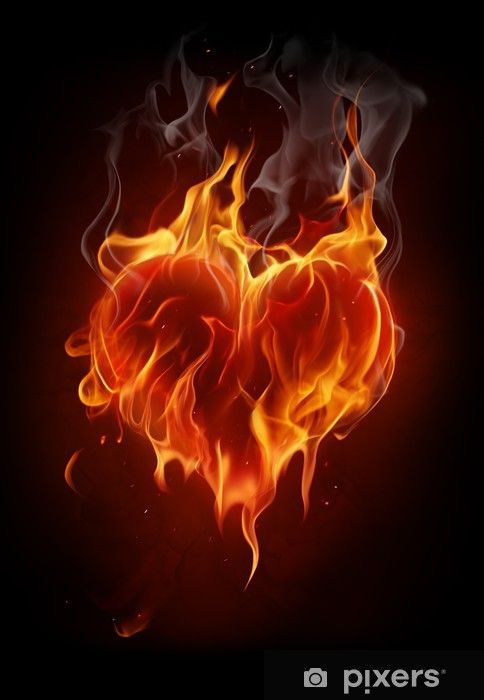 Love Fire Heart Fire Heart Love Png Banner Background Images