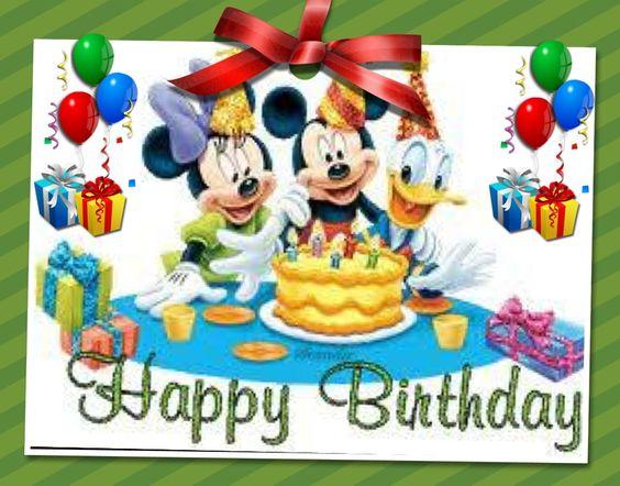 Disney, Happy birthday disney and Birthdays on Pinterest