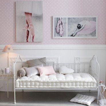 Romantic bedroom, maisons du monde, atmosphere, design, white