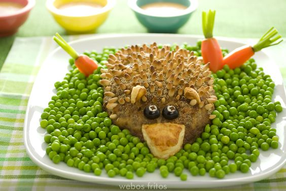 Fiambre de carne para niños | webos fritos