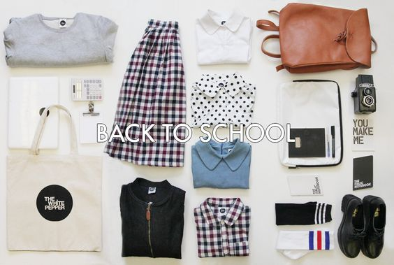 Inspire Me - Back to School http://www.thewhitepepper.com/collections/back-to-school
