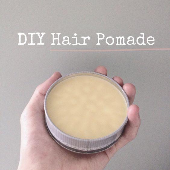 DIY Hair Pomade for Men