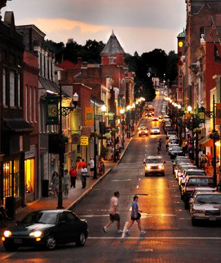 America's Greatest Main Streets via Travel+Leisure