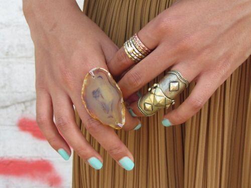 jewels + nails