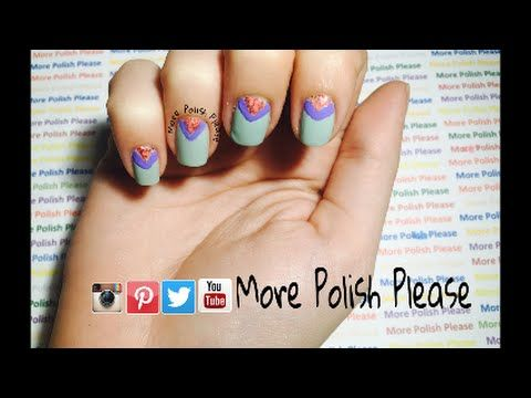 Visit my youtube channel for a quick tutorial on how to create this look. Thumbs up and share if you like this design and don't forget to subscribe for more videos. -More Polish Please.