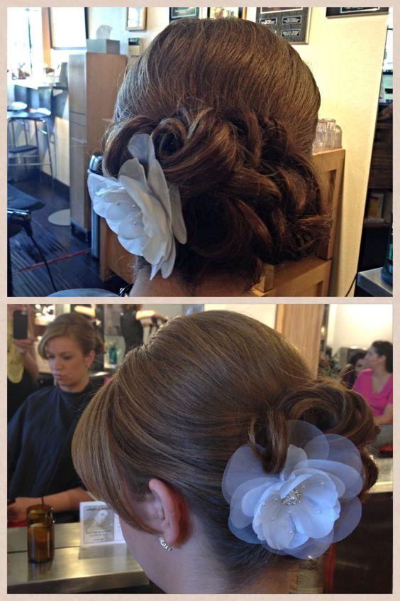 Berenice's salon updo by Sarah Busche