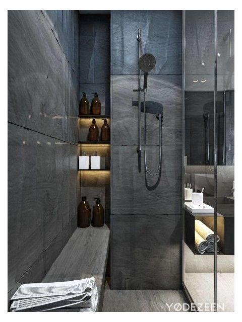 59 Simply Chic Bathroom Tile Ideas For Floor Shower And Wall Design Contemporary Bat Bathroom Shower Design Contemporary Bathroom Tiles Minimalist Bathroom