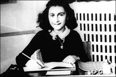 "Once upon a time, a beautiful Jewish girl hid in an attic with her family and her words lived to tell their story. ""In spite of everything, I still believe that people are really good at heart."" - Anne Frank"