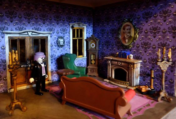 Playmobil Haunted Halloween Victorian Gothic by RoseCityStyle