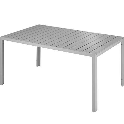 Tectake 800716 Table De Jardin De Terrasse Exterieure Cadre En