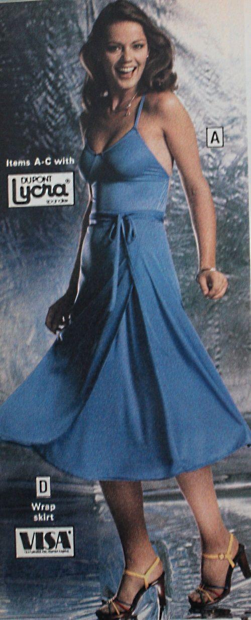 1979 Blue Disco Party Dress 1970s Dresses Disco Dress Dresses