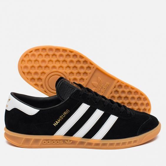 Adidas Hamburg Black White
