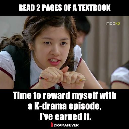 This is so me! Watch all of your favorite dramas commercial-free with DramaFever Premium: