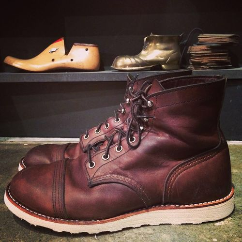 Red wing resole | Style | Pinterest | Wings Ranger and Irons