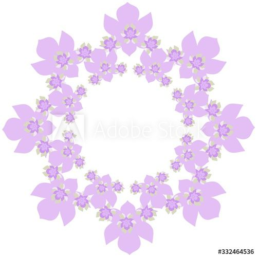 Light Lilac Flower Frame On A White Background Color Drawing By Hand Print Greeting Card Ad Paid Frame In 2020 Flower Frame Colorful Drawings Lilac Flowers