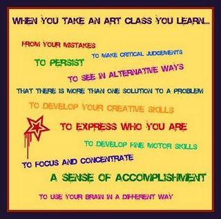 Importance of art class!!!