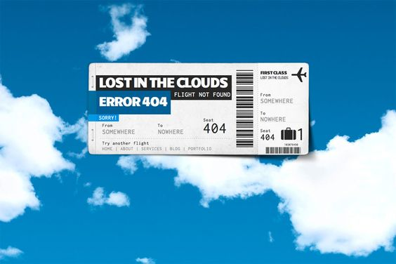 Lost in the Clouds – Error 404 | Theme Passion