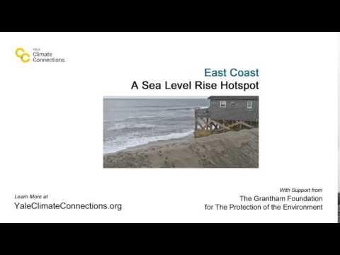 """East Coast ... A Sea Level Rise Hotspot"" #EastCoast #climatechange #sealevels"