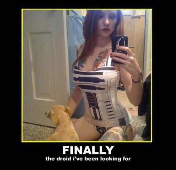 A star wars corset!!