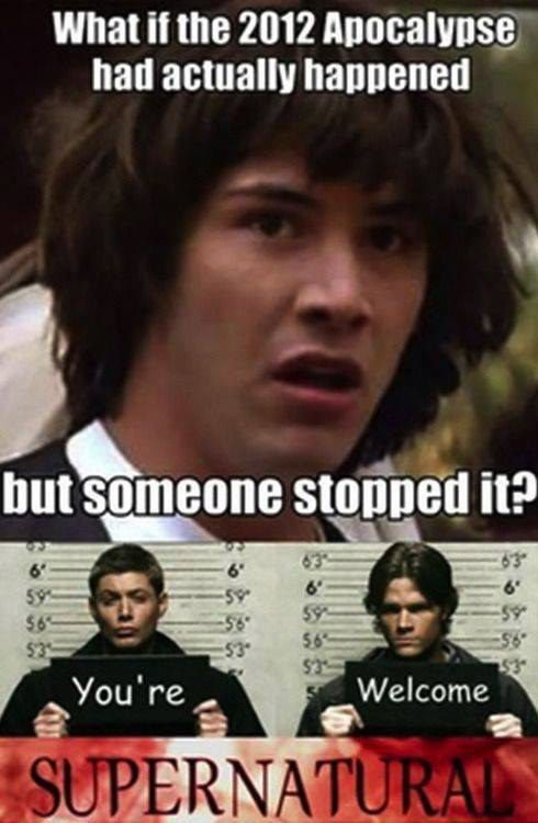 15 Supernatural Memes To Get You Through Your Day Supernatural