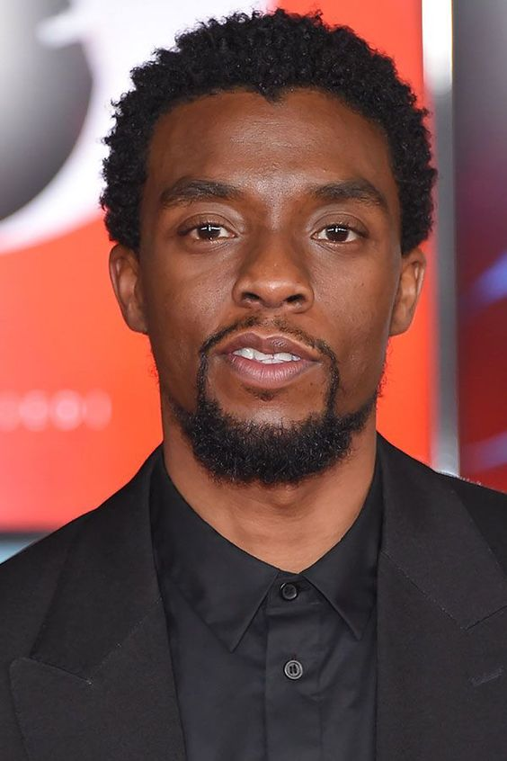 Chadwick Boseman, Spiky Afro hairstyle