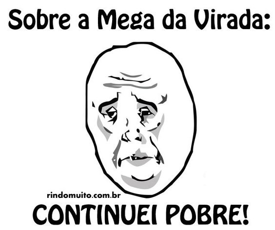 Mega da virada – memes