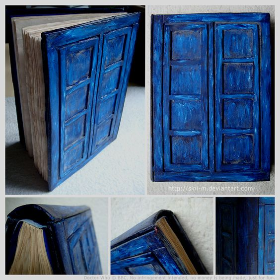 Doctor Whooves TARDIS Notebook by ~Sini-M on deviantART