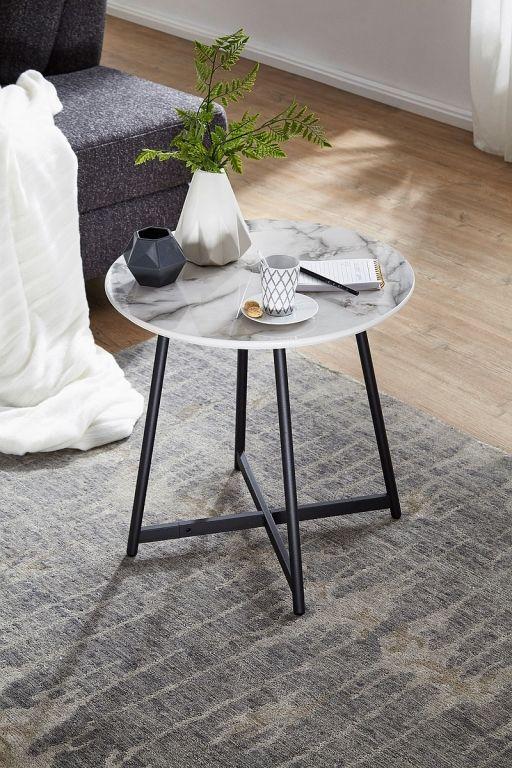 Wl6 003 Beistelltisch Rund Weiss Holzwerkstoff In 2020 Couchtisch Rund Wohnzimmer Tisch Weiss Couchtisch Weiss Hochglanz