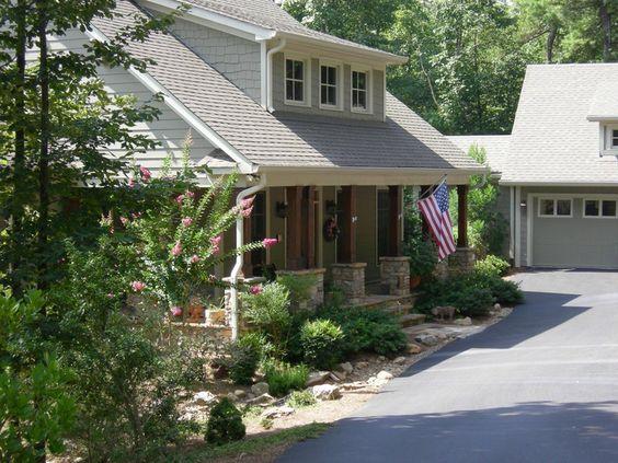 Detached Garage with Breezeway Plans amp Lodge House Plan