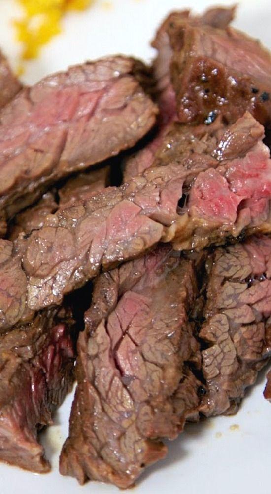 The Best Skirt Steak Marinade.