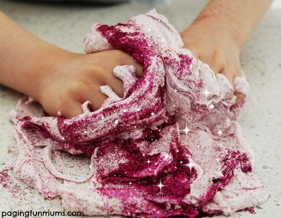Sparkly Fairy Dust Dough