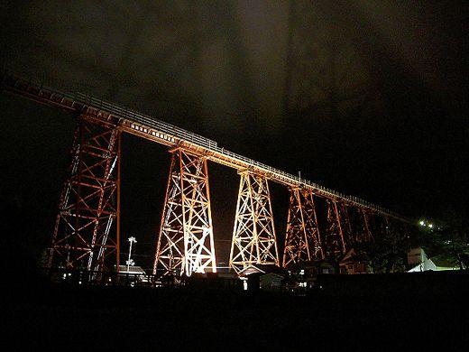 yobekyoryo (yobe railroad bridge):余部橋梁(兵庫県香美町)