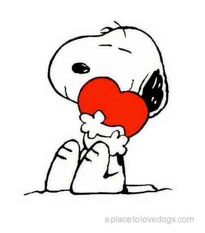 Snoopy has my heart: