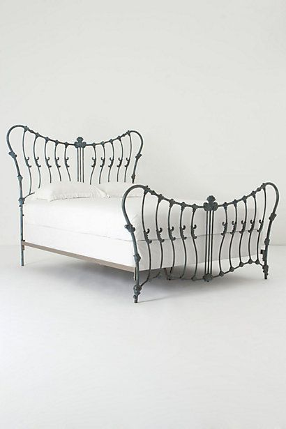Cosette Bed - Anthropologie.com- absolutely love it but I don't know if I'd EVER want to spend that much on one.