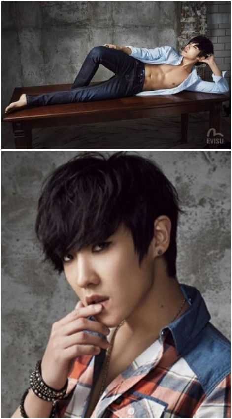 Lee Joon - ahhHH!!!   gdammmmit...  Pinerest is f'ing frustrating but I can't stop.. still worth it..