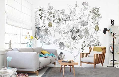 Fantasievoll Wonderland Wall Von Zimmer Rohde Bild 11 In 2020 Schoner Wohnen Tapeten Haus Deko Tapeten