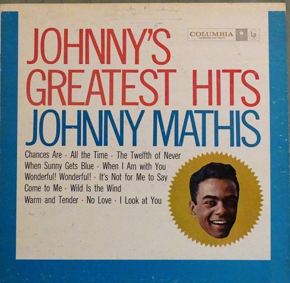 Johnny Mathis  Johnny's Greatest Hits 1958 LP Album by DorenesXXOO