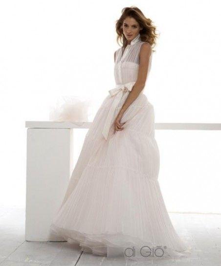 Wedding dress con fiocco in vita Le spose di Giò