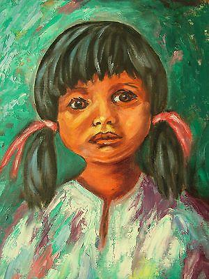 Little Girl oil painting Portrait