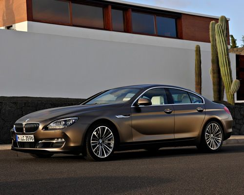 """BMW debuts its answer to the CLS (and the A7) with the new 6 Series Gran Coupe. The car will hit USA showrooms with three models: a 3.0L 315 hp Twin Turbo V6, a 4.4L 415 hp Twin Turbo V8, and all wheel drive """"xDrive"""" model with the same V8. The former engine will hit 0-62 in 5.4 seconds while the top of the line V8 will reach 62 in just 4.6 seconds.: Bmw 6 Series, Expensive Cars, Series Gran, Famed Cars, Series Bmw, Bmw Great, Gran Coupe, Cars Trucks"""