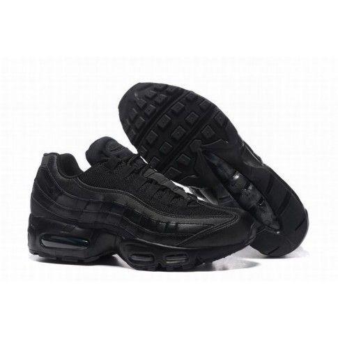 Nike Air Max 95 Black #CheapNikeAirMax95 | Nike air max trainers ...
