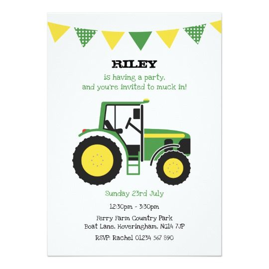 green country farm tractor childrens