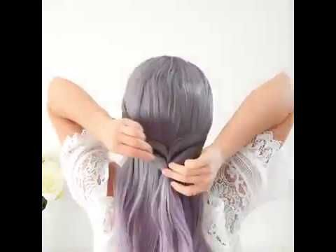 Tasrihat Cha3r Banat Wa Machtat Cha3r Sahla 2019 تسريحات شعر بنات و مشطات سهله Youtube Hair Styles Tulle Skirt Formal Dresses