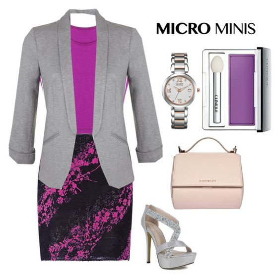 """Micro Mini Skirt"" by watchlover ❤ liked on Polyvore featuring moda, Antonio Berardi, Miss Selfridge, Givenchy e Clinique"