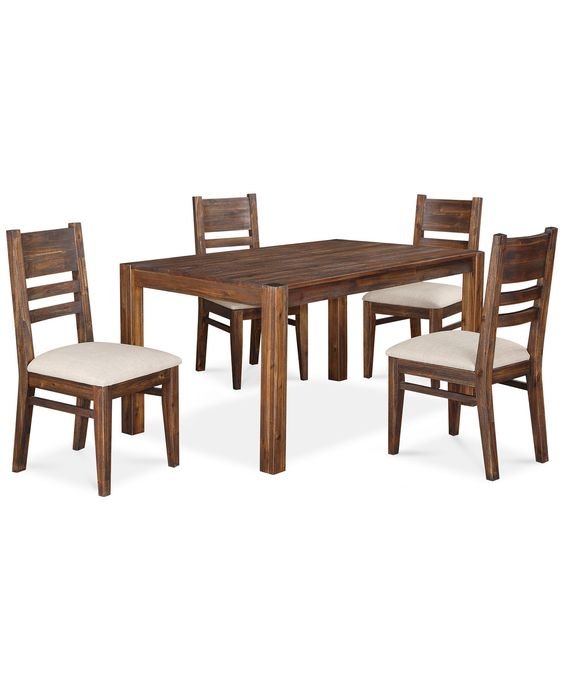 Avondale 5 Piece Dining Room Furniture Set - Furniture - Macy's