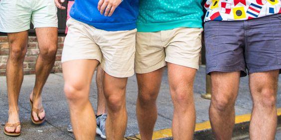 men's chubbies short shorts trend