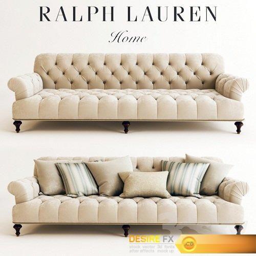 Desire Fx Ralph Lauren Indian Cove Lodge Sofa Tufted Sofa