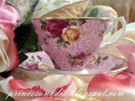Princesa Nadie: Té en Old Country Roses