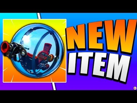 New Hamster Ball Vehicle Gameplay In Fortnite Use Code Nickeh30 Youtube